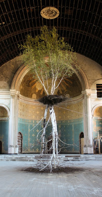 Shinji Turner-Yamamoto, Hanging Gardens, Holy Cross Church, Cincinnati, 2010